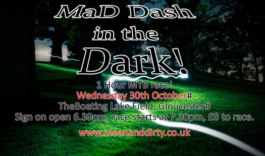 mad dash in the dark