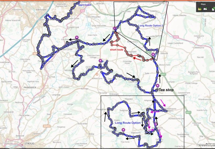 MADORC Route