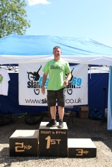 Martyn Wilson took the male 40 25k title
